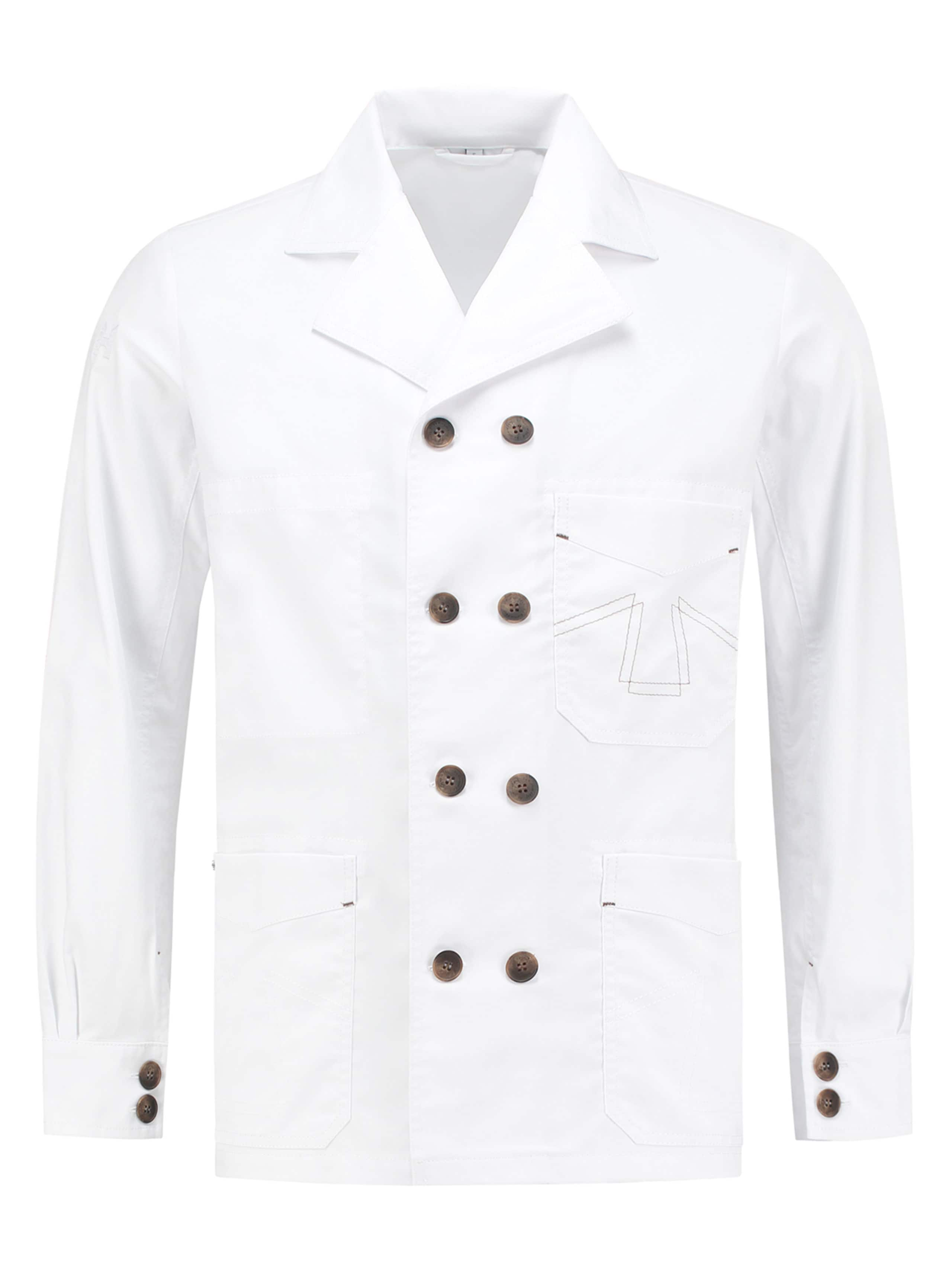Chef Jacket Double B Classic White