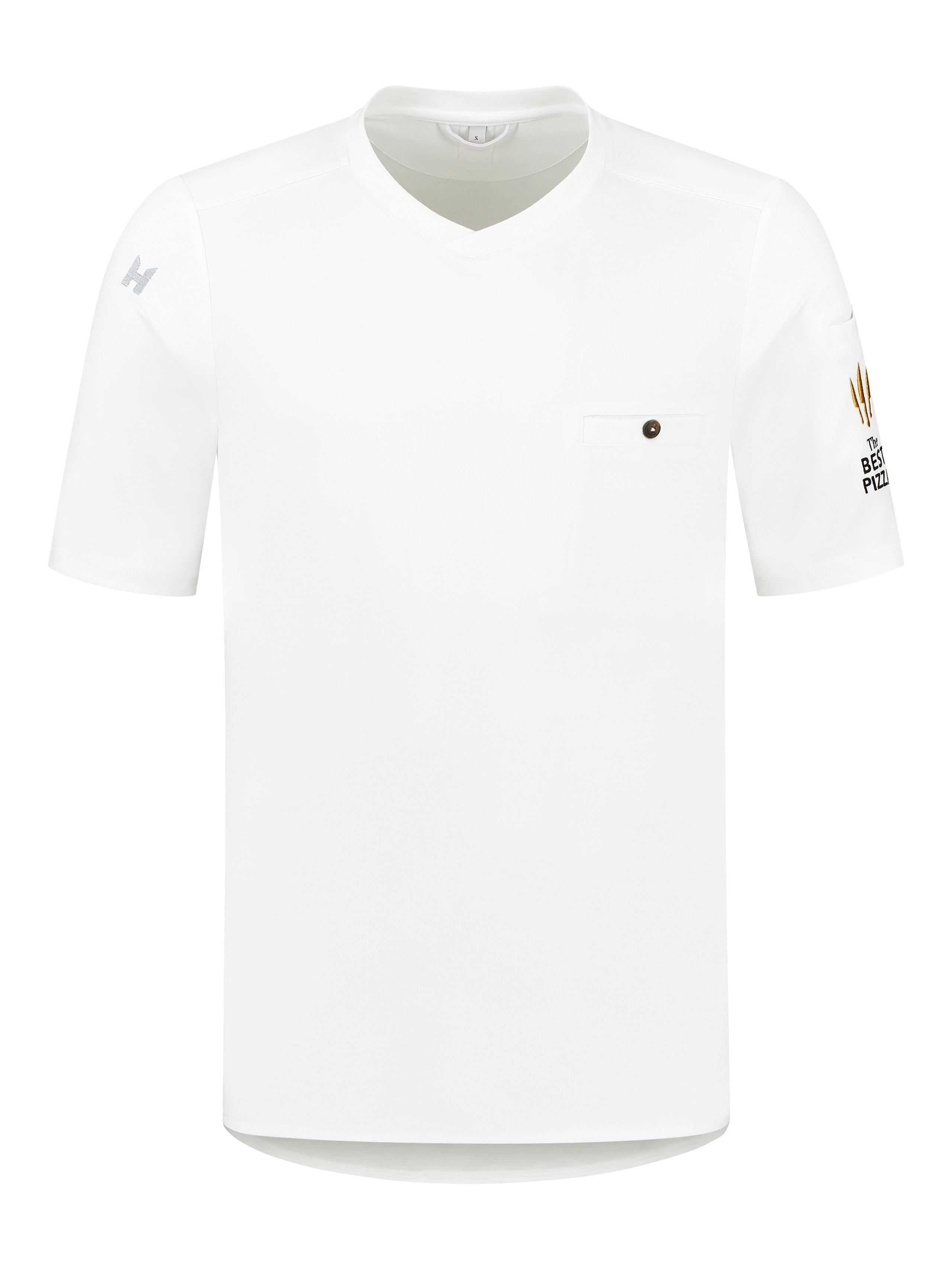 Chef Shirt The Best Pizza Ferre White