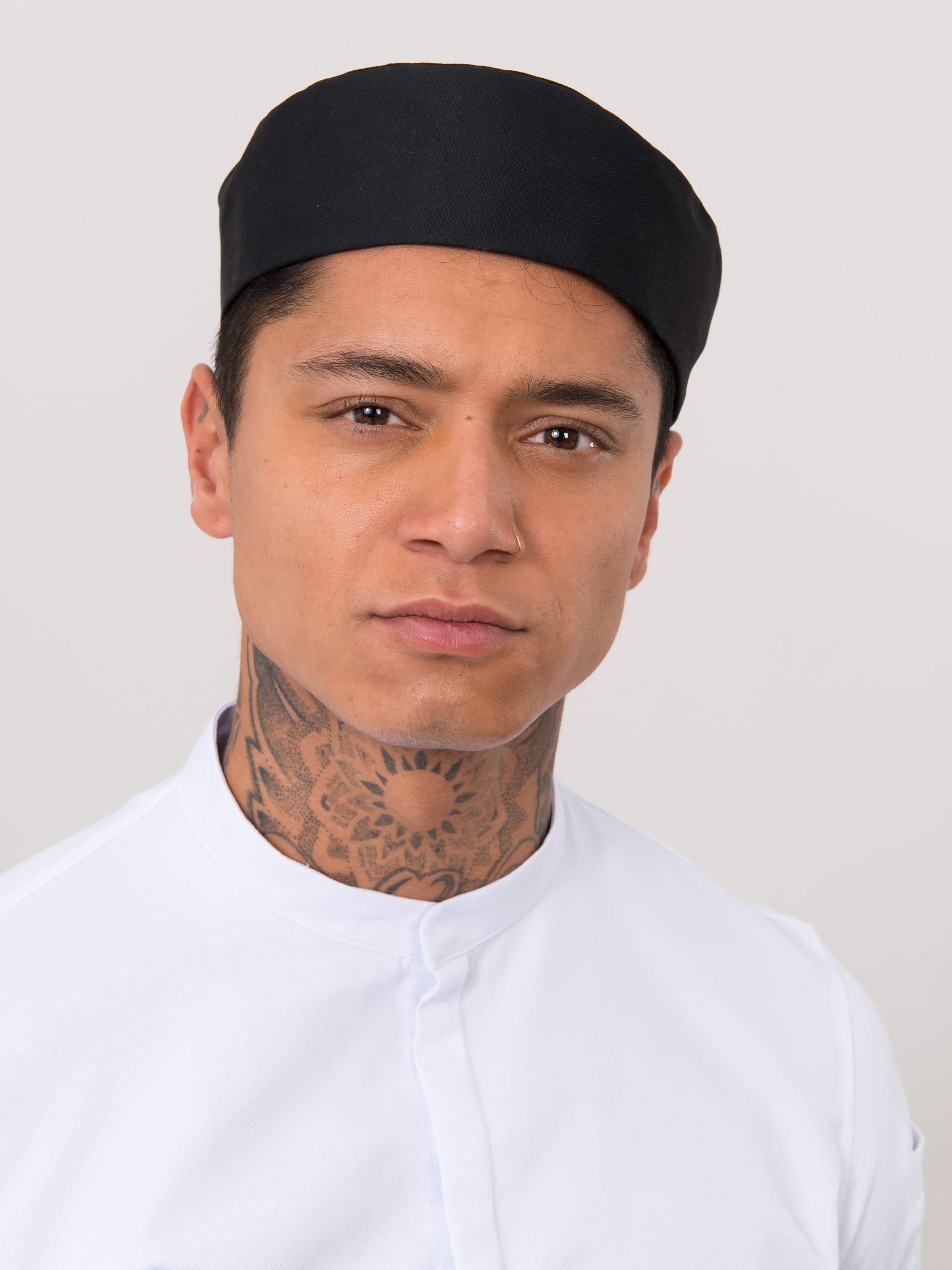 Chef Hat Fez Black
