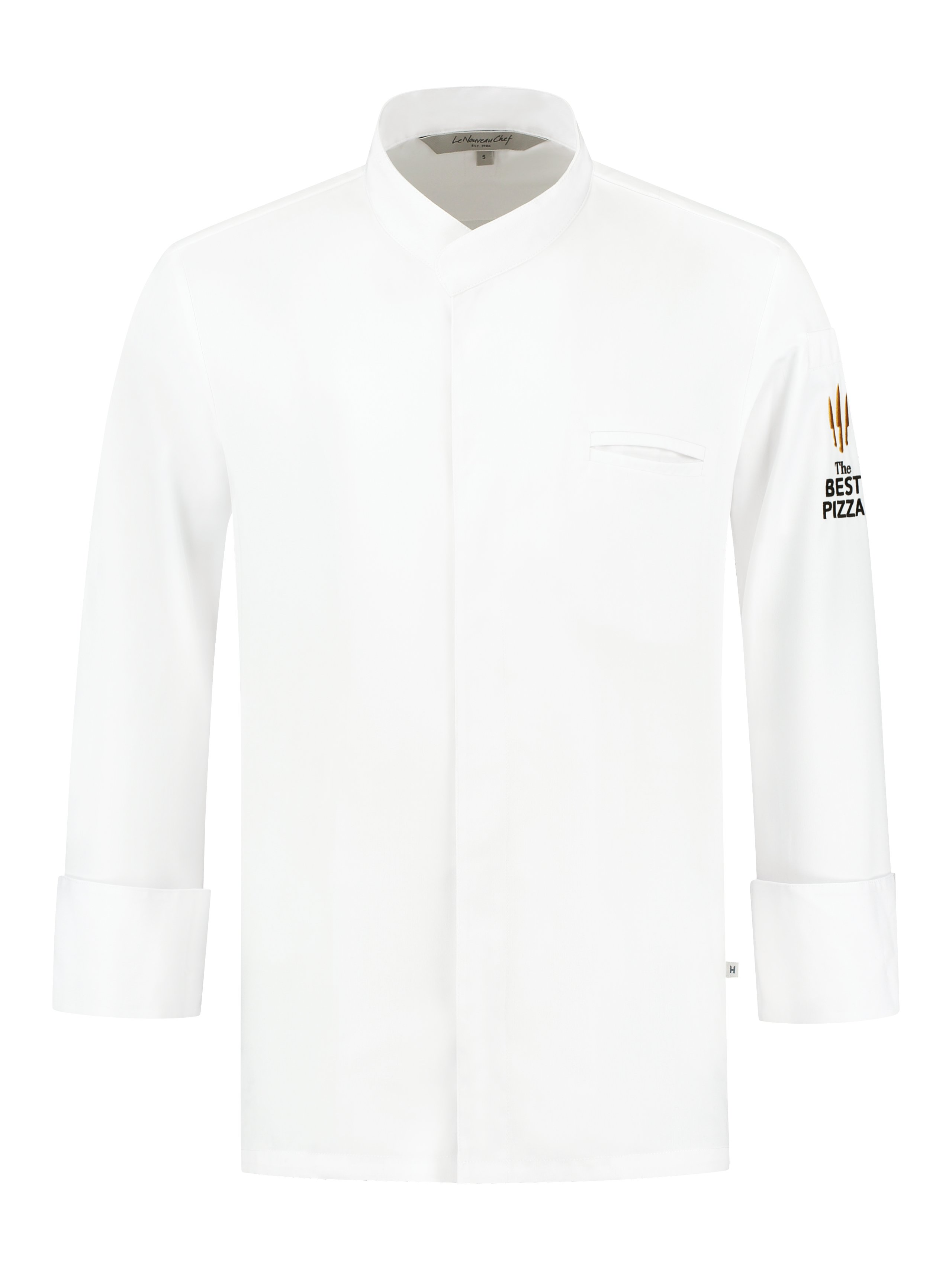 Chef Jacket The Best Pizza Alain White