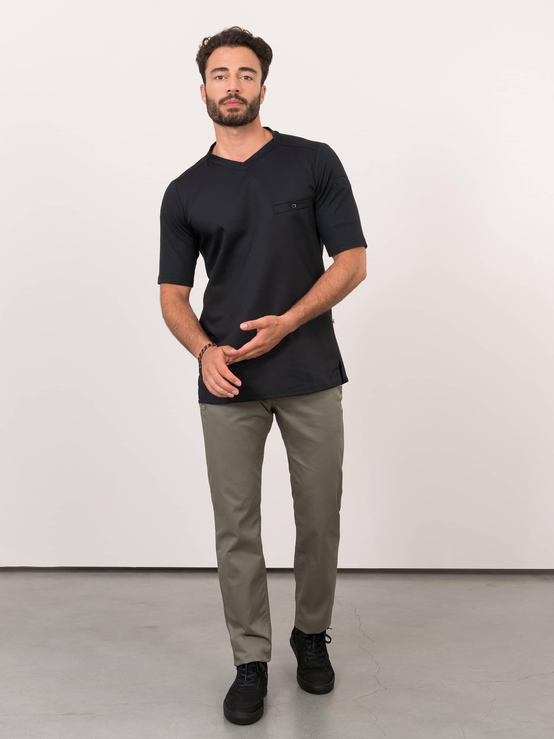 T-Shirt Ferre Schwarz