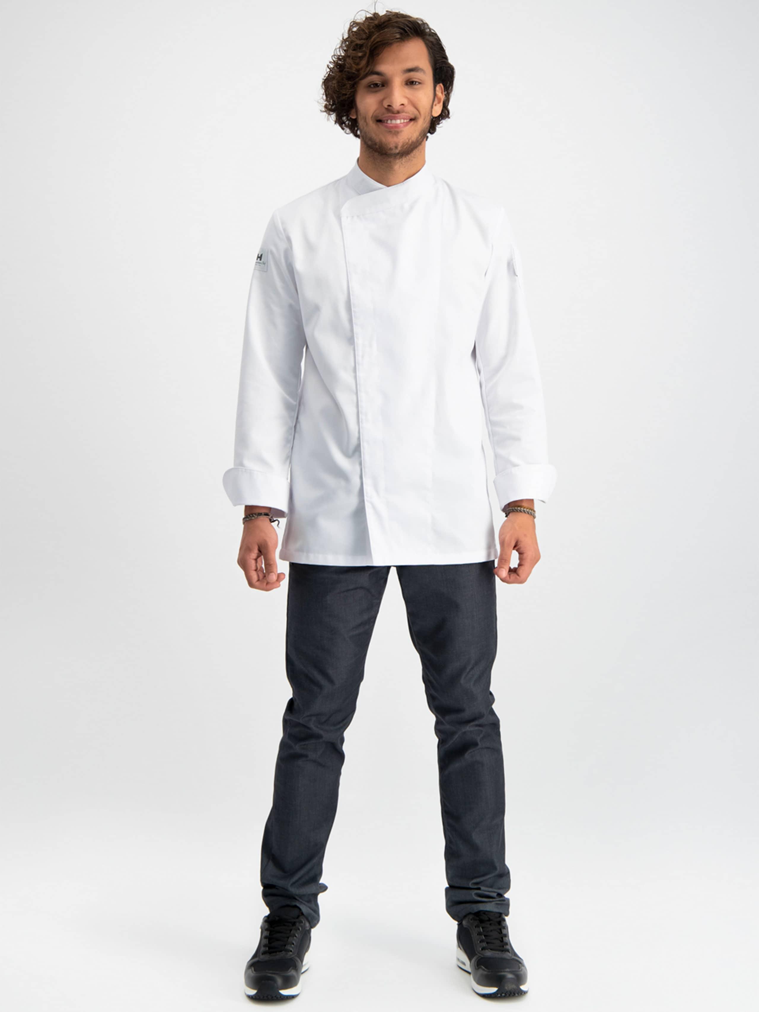 Chef Jacket Basix 4 White