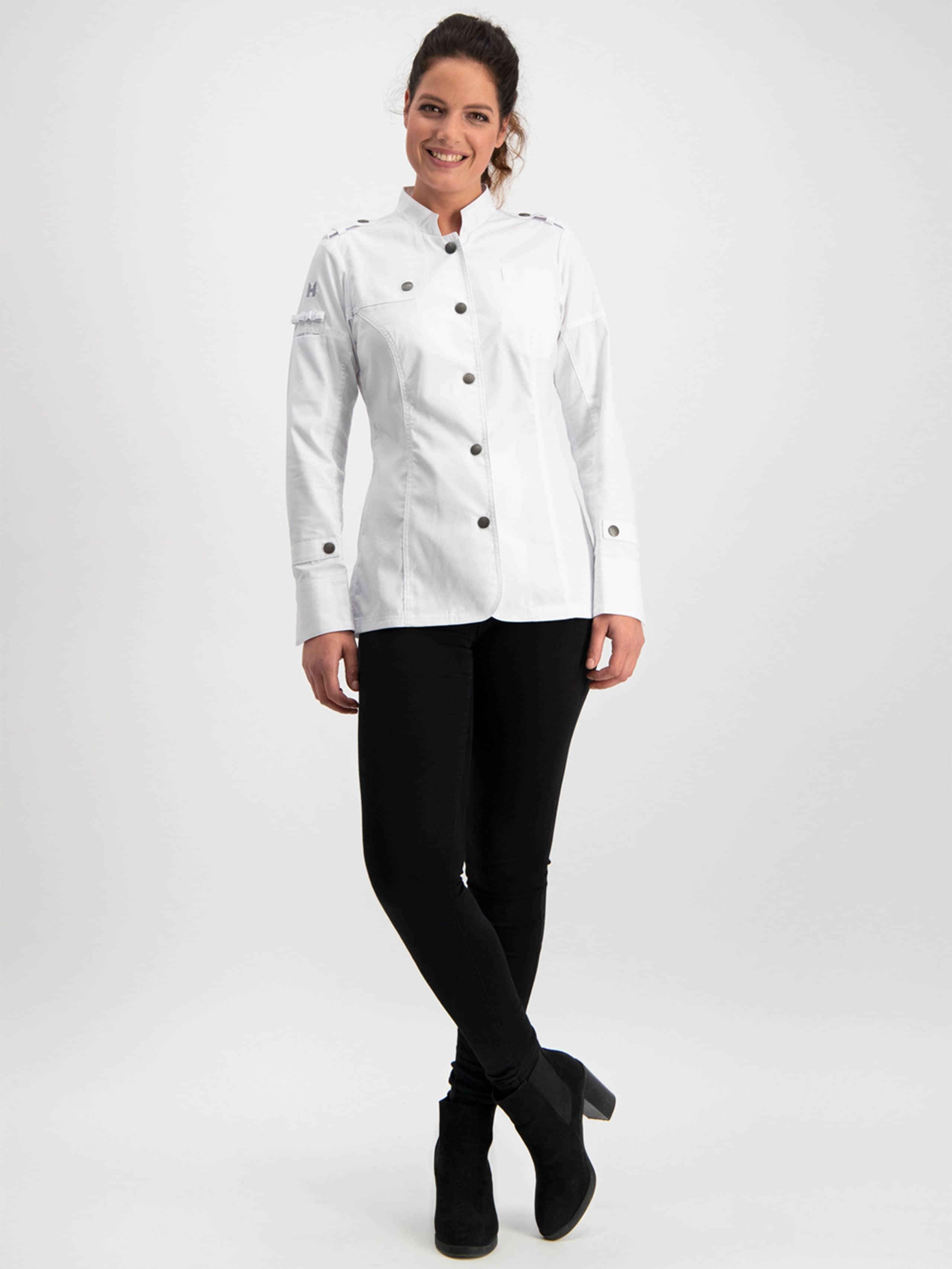 Chef Jacket Milou White