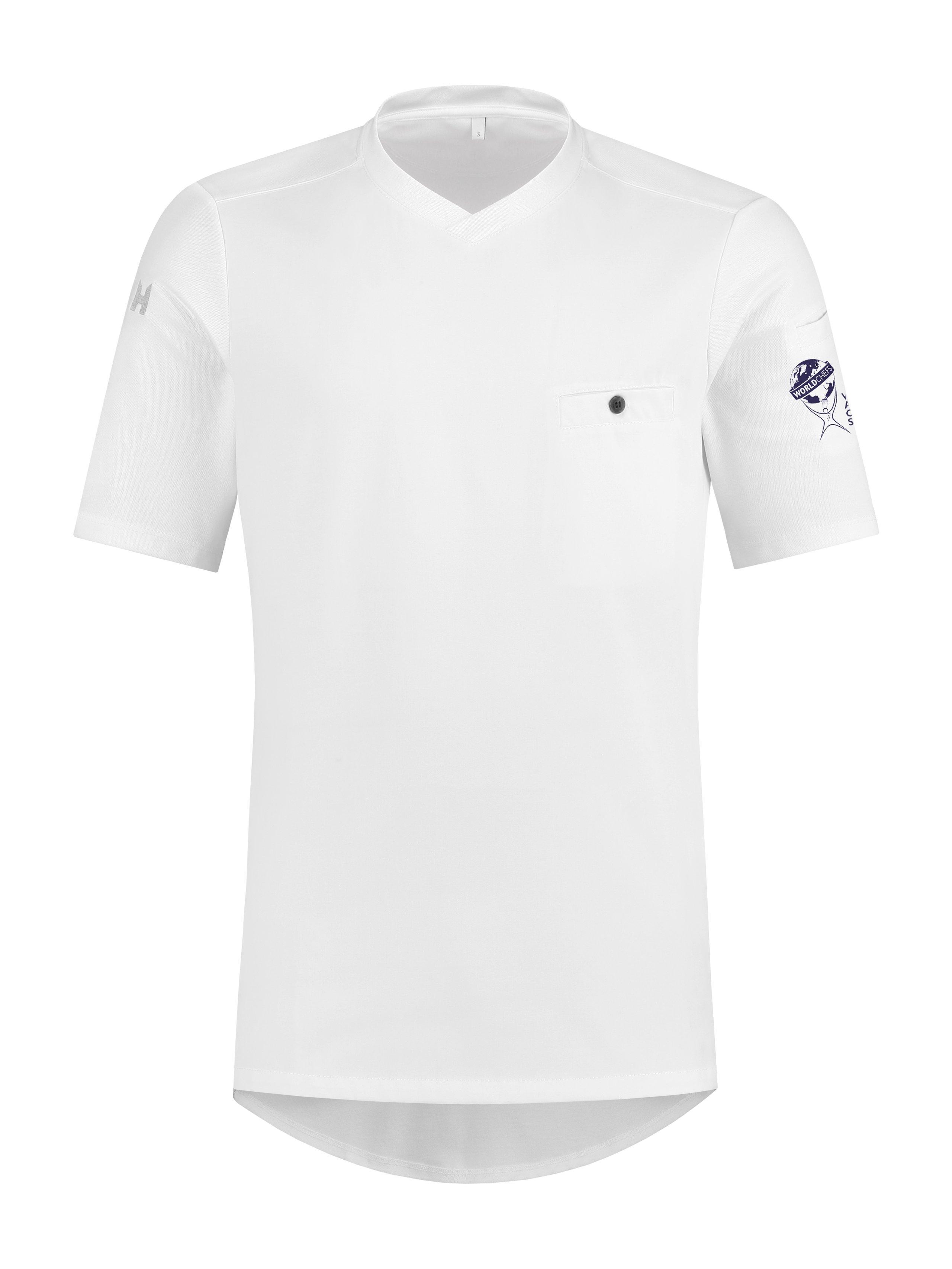 T-Shirt Worldchefs Ferre Weiß