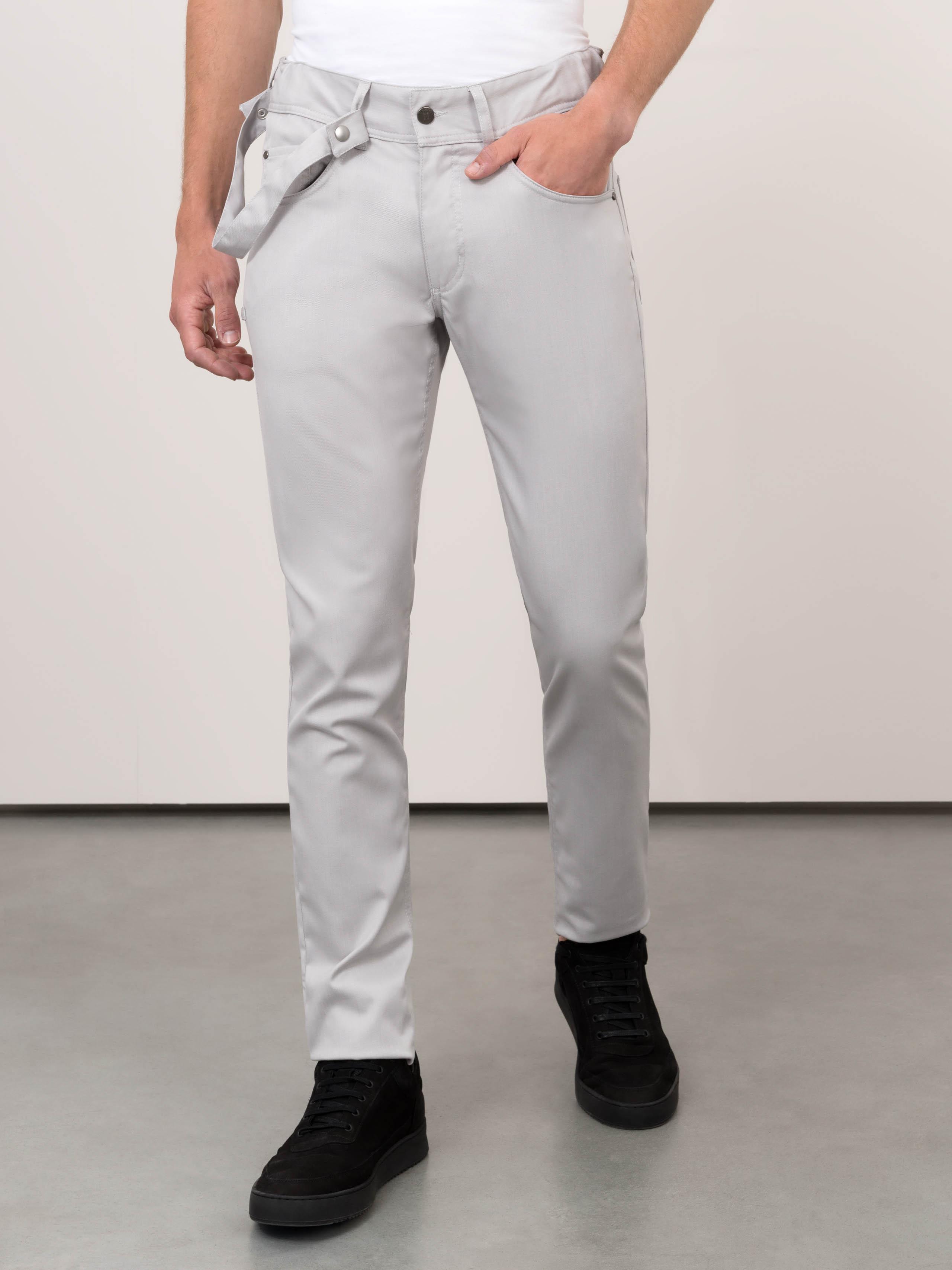 Chef Pants Chicago Grey Denim