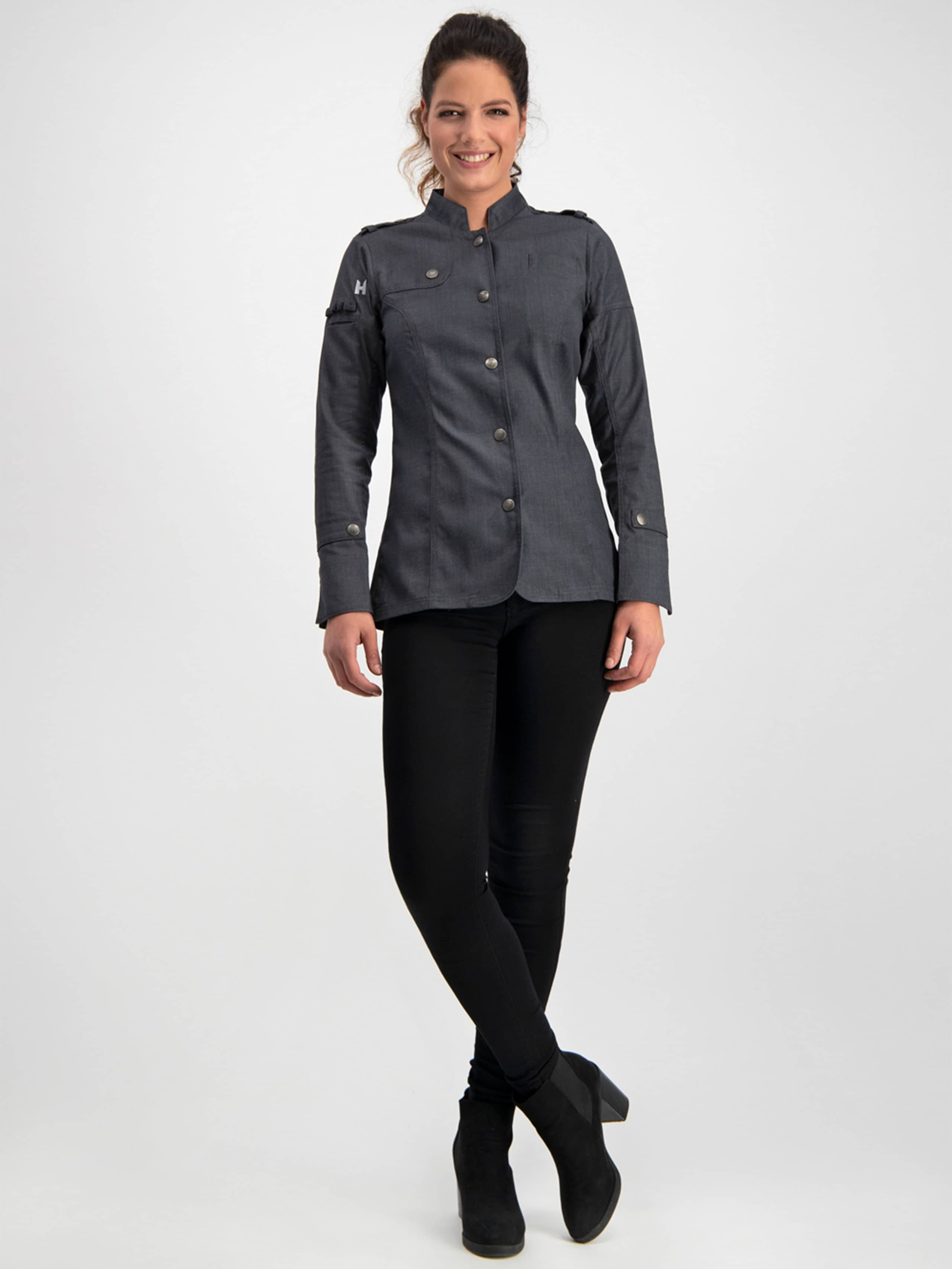 Chef Jacket Milou Black Denim