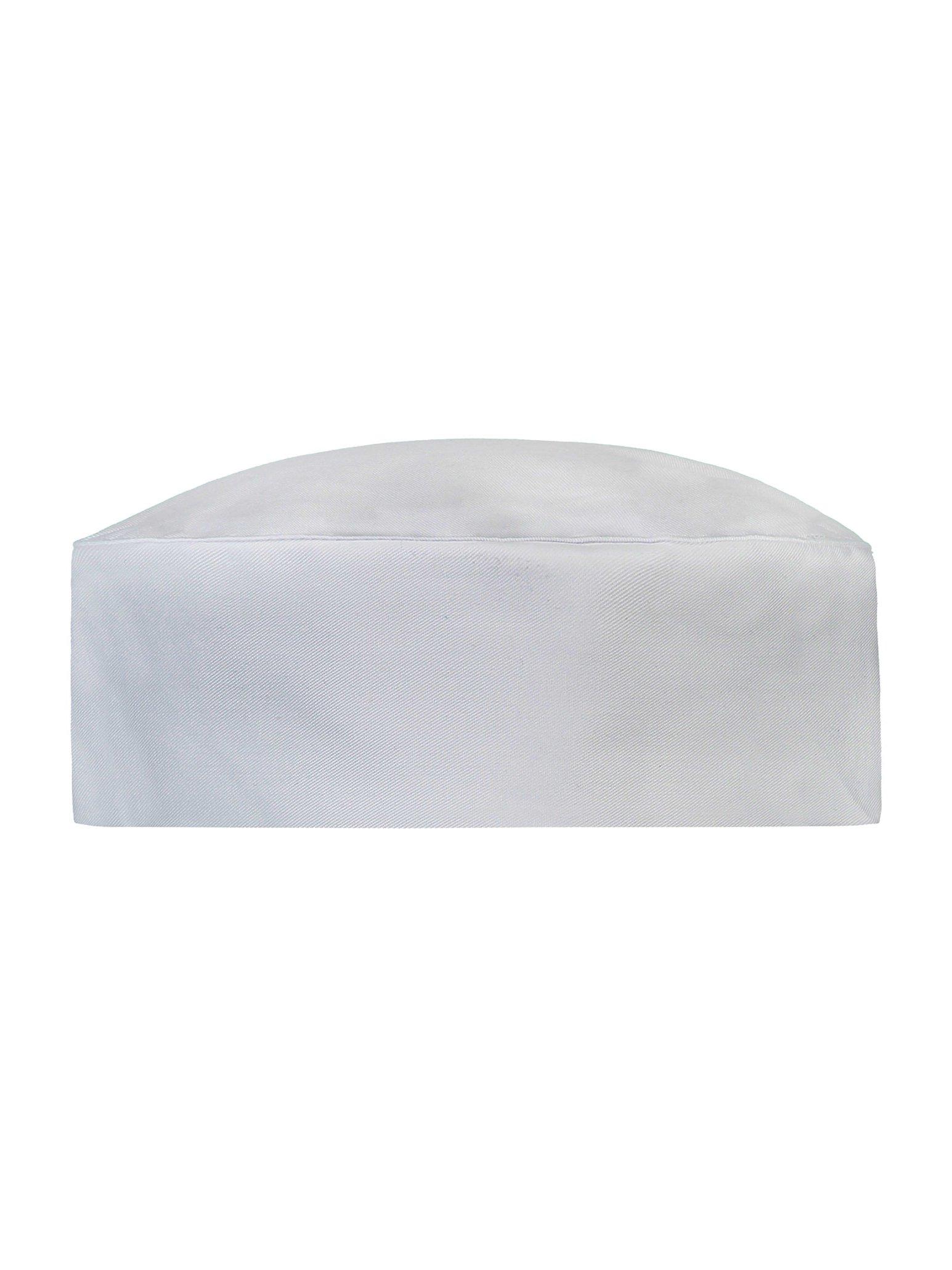 Kochmutze Fez Ladies Weiß