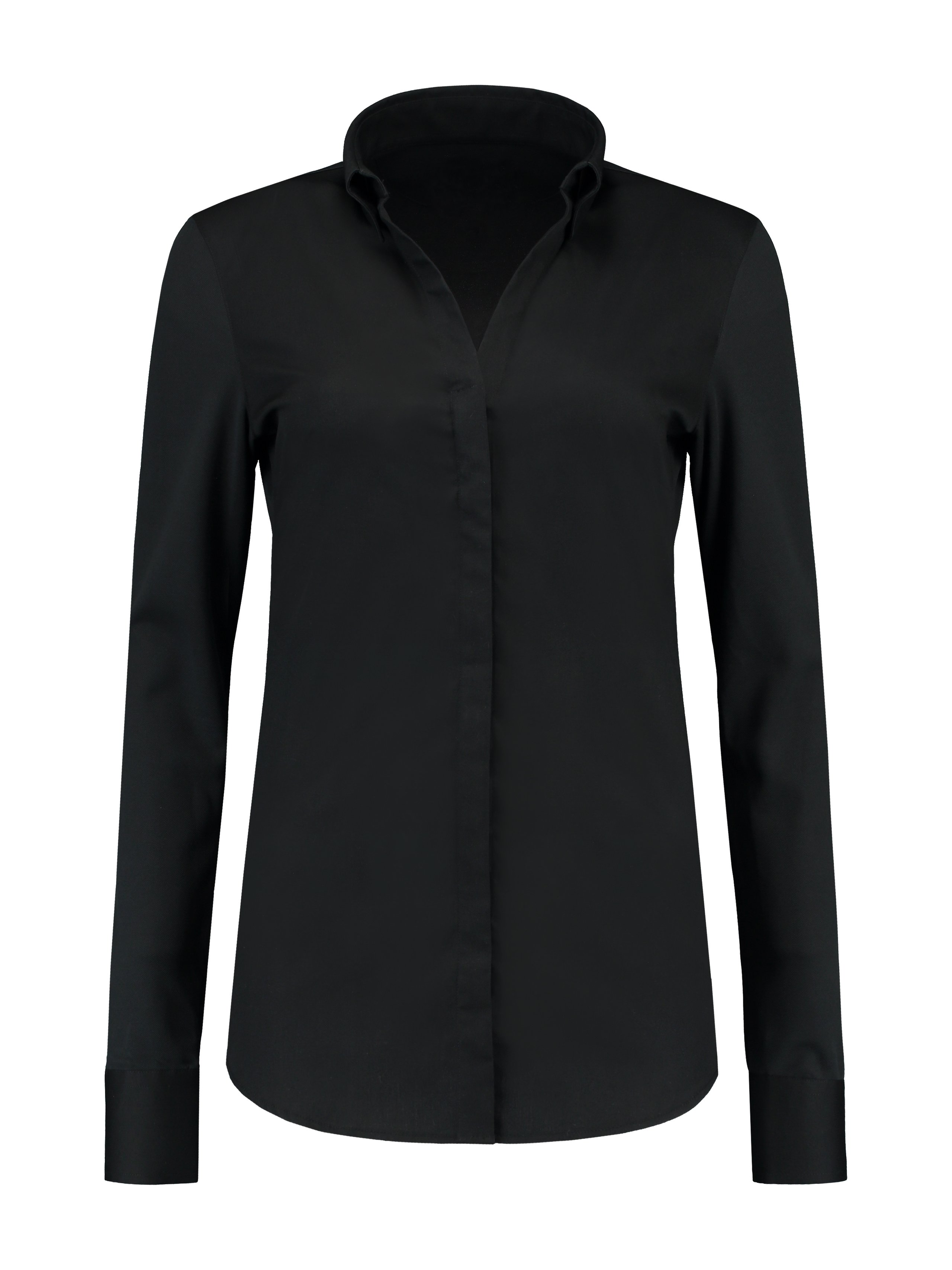 Service Shirt Lon Black