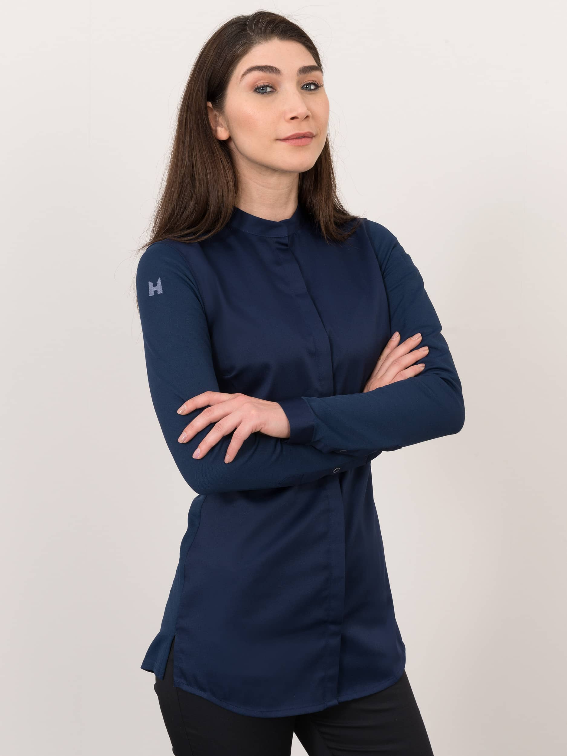 Chef Jacket Jolie Patriot Blue