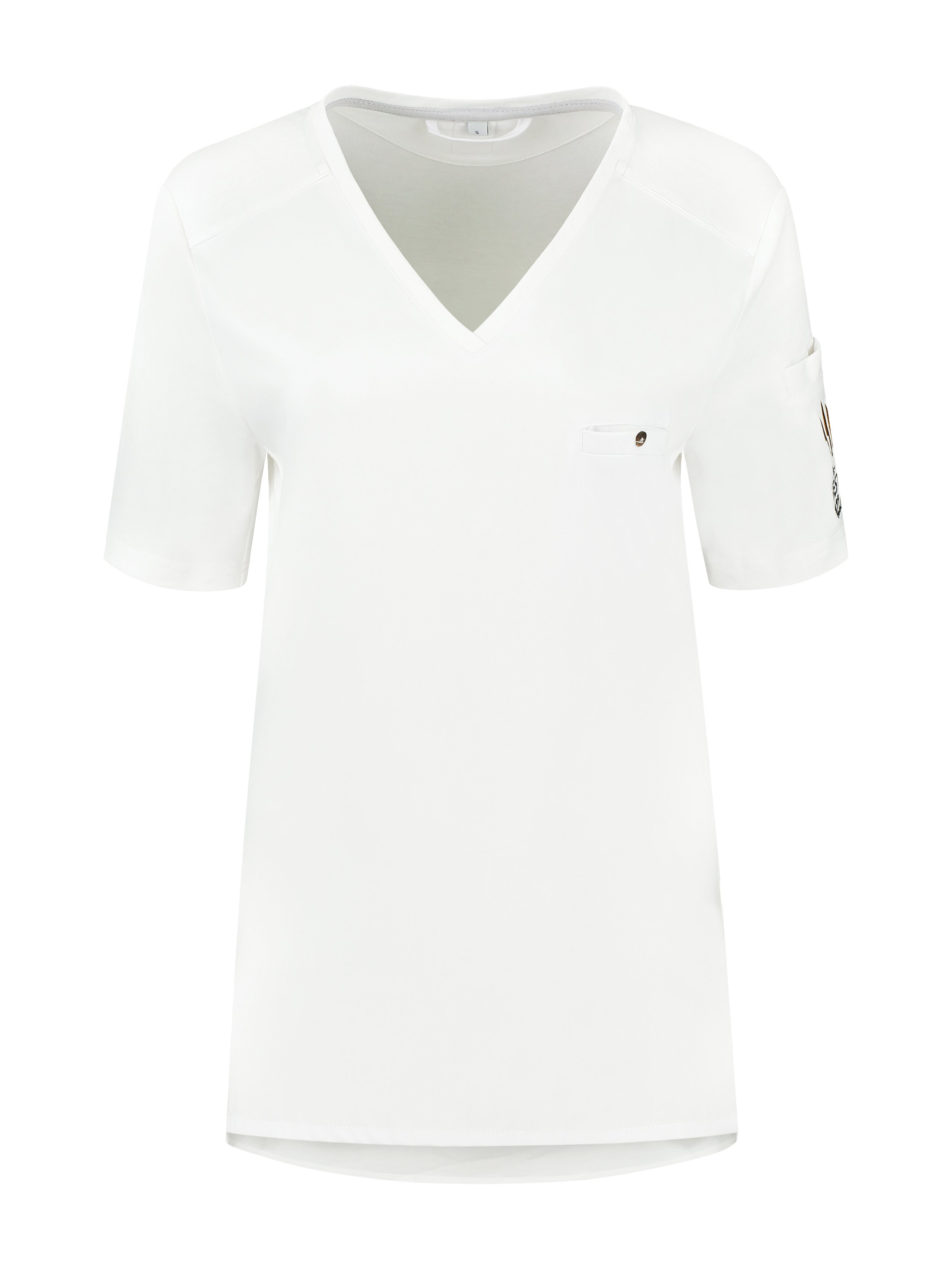 Chef Shirt The Best Pizza Fae White